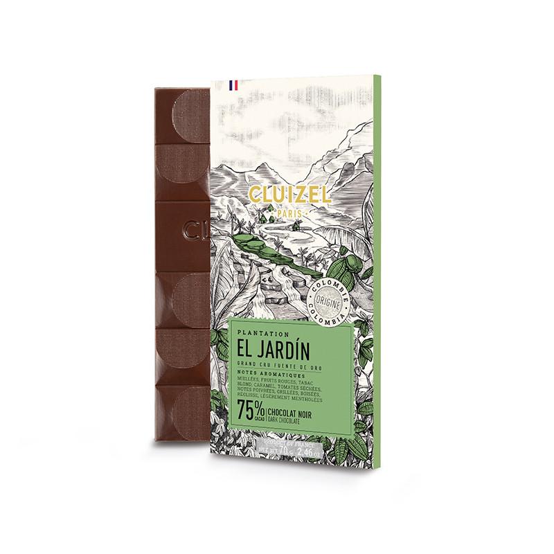 MICHEL CLUIZEL |  Schokolade »Plantation El Jardin« 75%