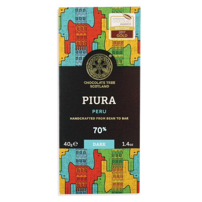 CHOCOLATE TREE | Schokolade »Piura Peru« 70% - 40g