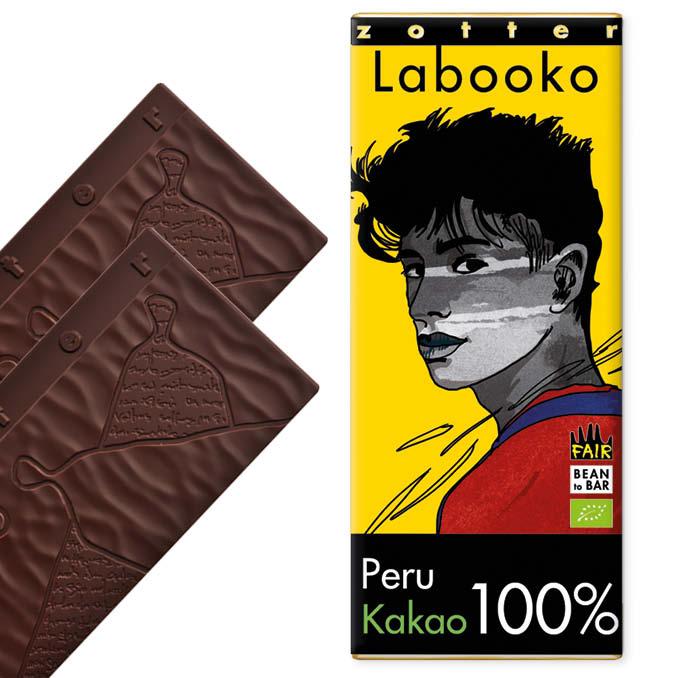 ZOTTER | »Labooko« Peru Kakaomasse 100% | BIO