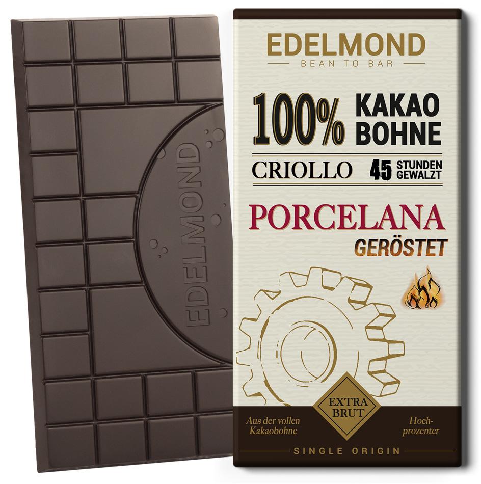 EDELMOND | Rohschokolade »Criollo 45«  100% | BIO