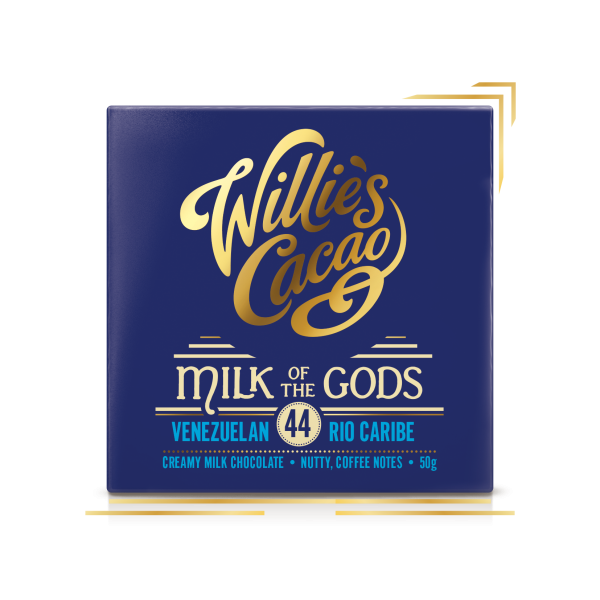 WILLIE's Cacao | Milchschokolade »Milk of the Gods« 44%