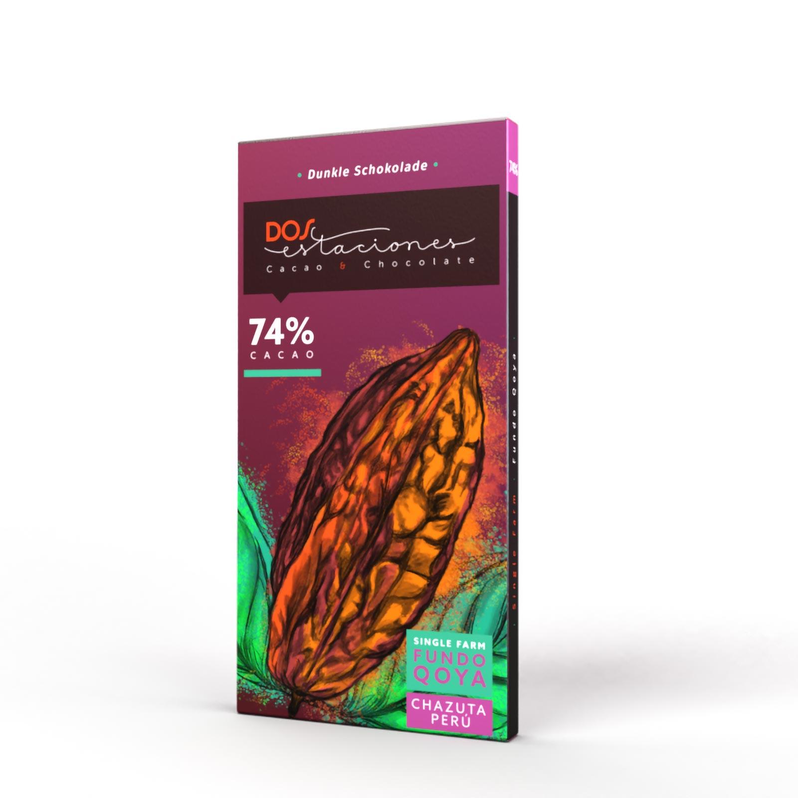 DOS ESTACIONES | Schokolade »Fundo Qoya Chazuta Peru« 74%