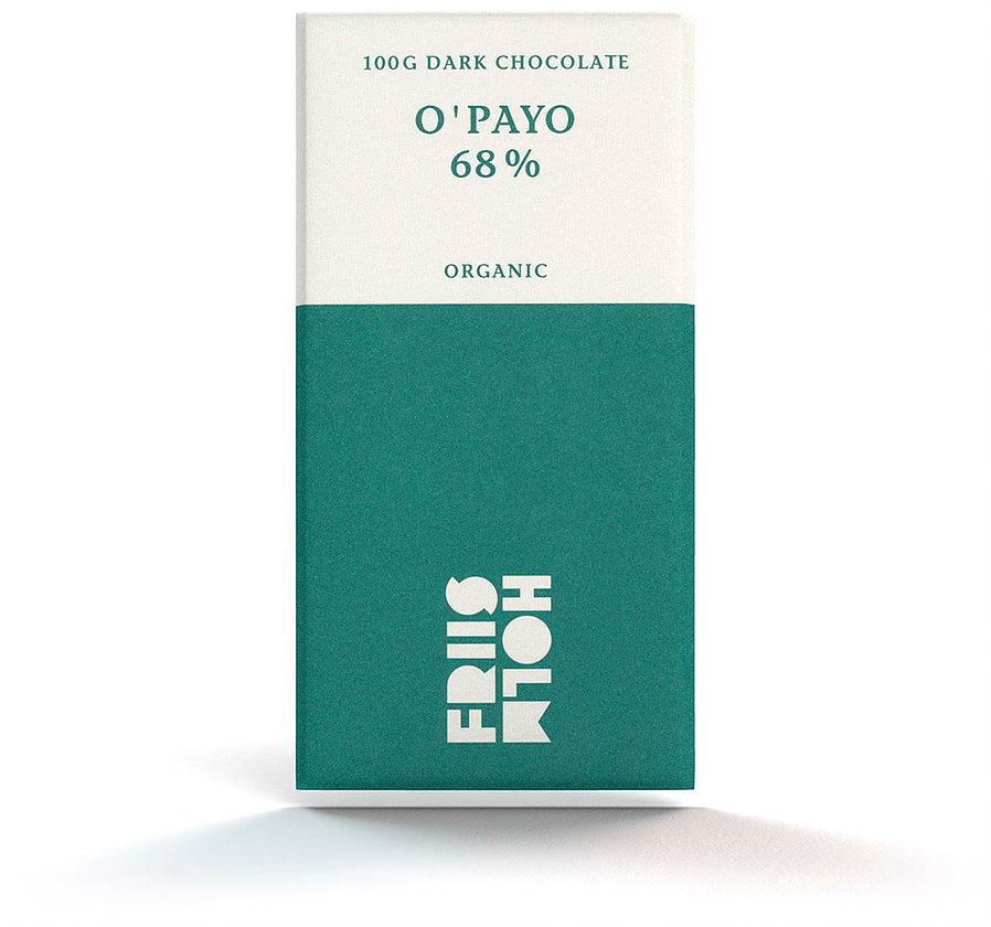 FRIIS-HOLM | Schokolade »O'Payo« 68% | BIO