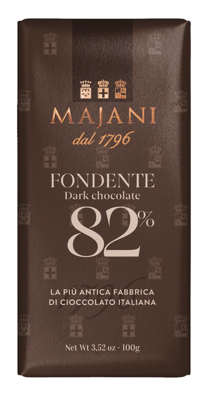 MAJANI | Dunkle Schokolade »Fondente« 82% 100g