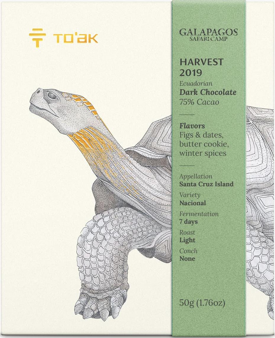TO'AK | Schokolade »To'ak Galapagos Harvest 2019« 75%
