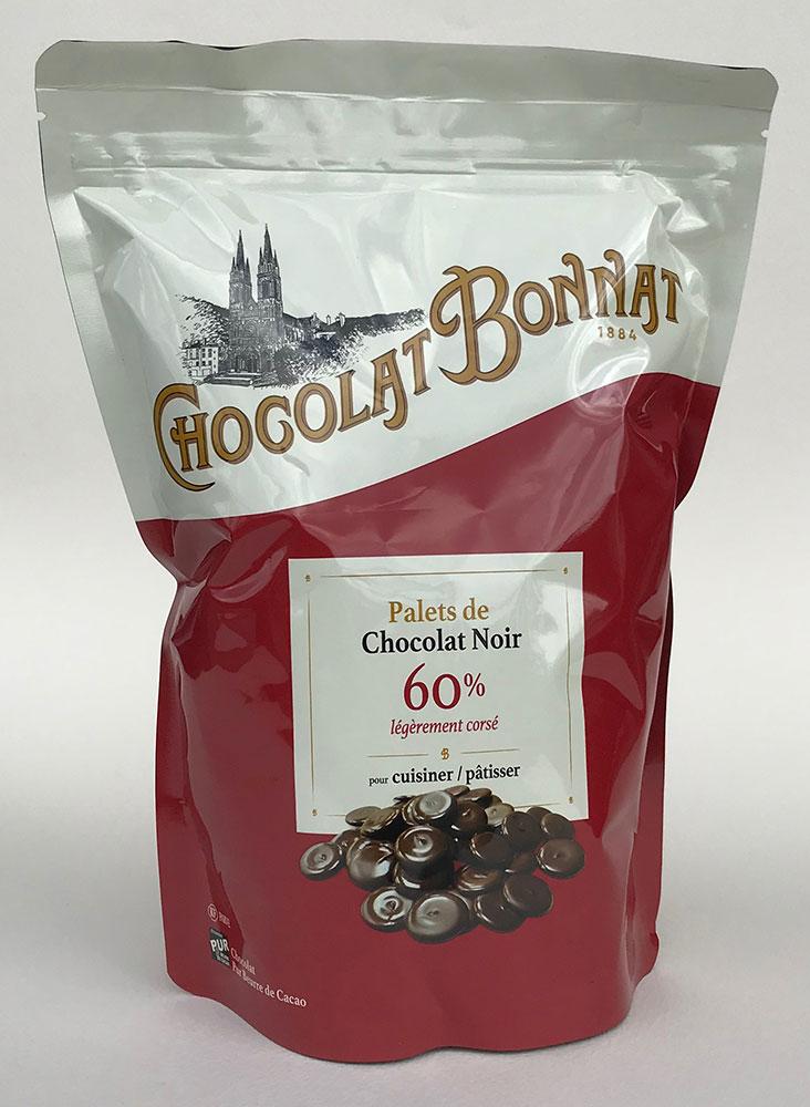 BONNAT | Schokoladendrops »Chocolat pour Pâtisser« 60% - 1kg