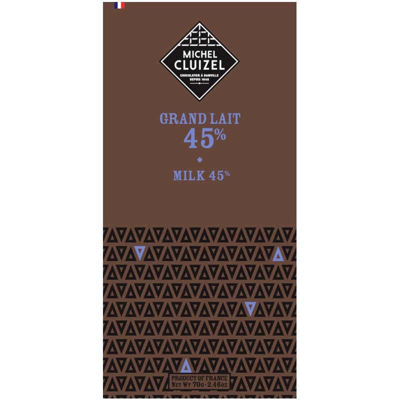 MICHEL CLUIZEL | Milchschokolade »Grand Lait« 45%